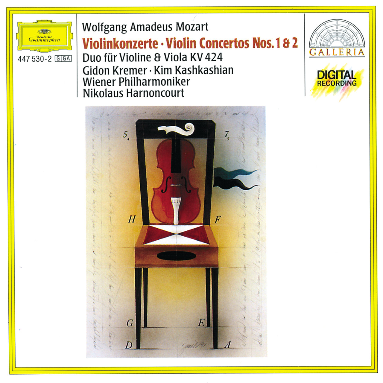 Mozart: Violin Concertos Nos.1 & 2; Duo for Violin and Viola KV 424