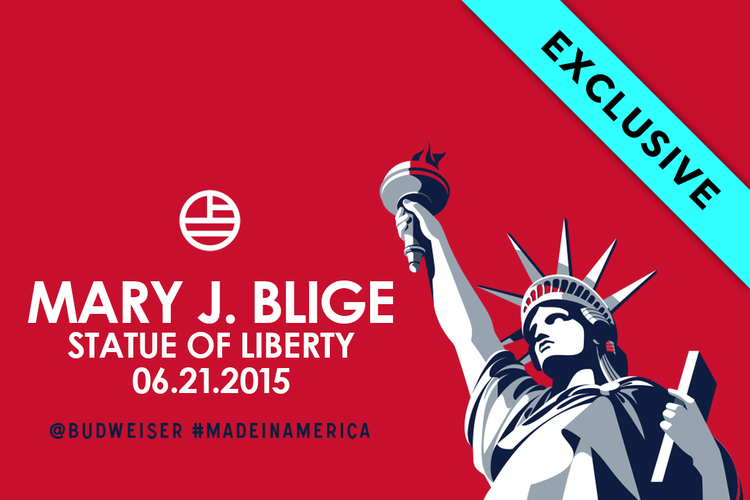 TIDAL X: Made In America Statue of Liberty
