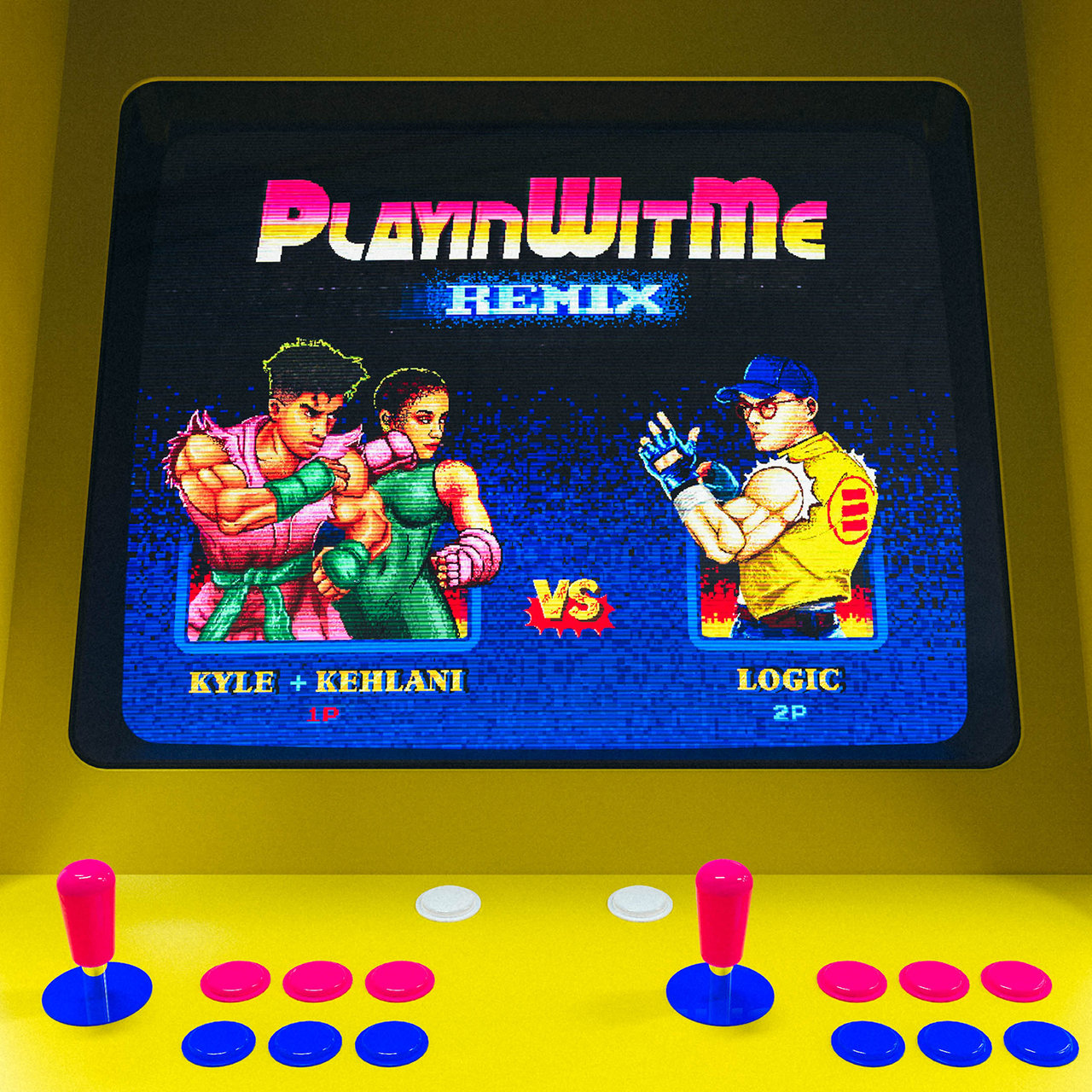 Playinwitme (Remix) [feat. Logic and Kehlani]