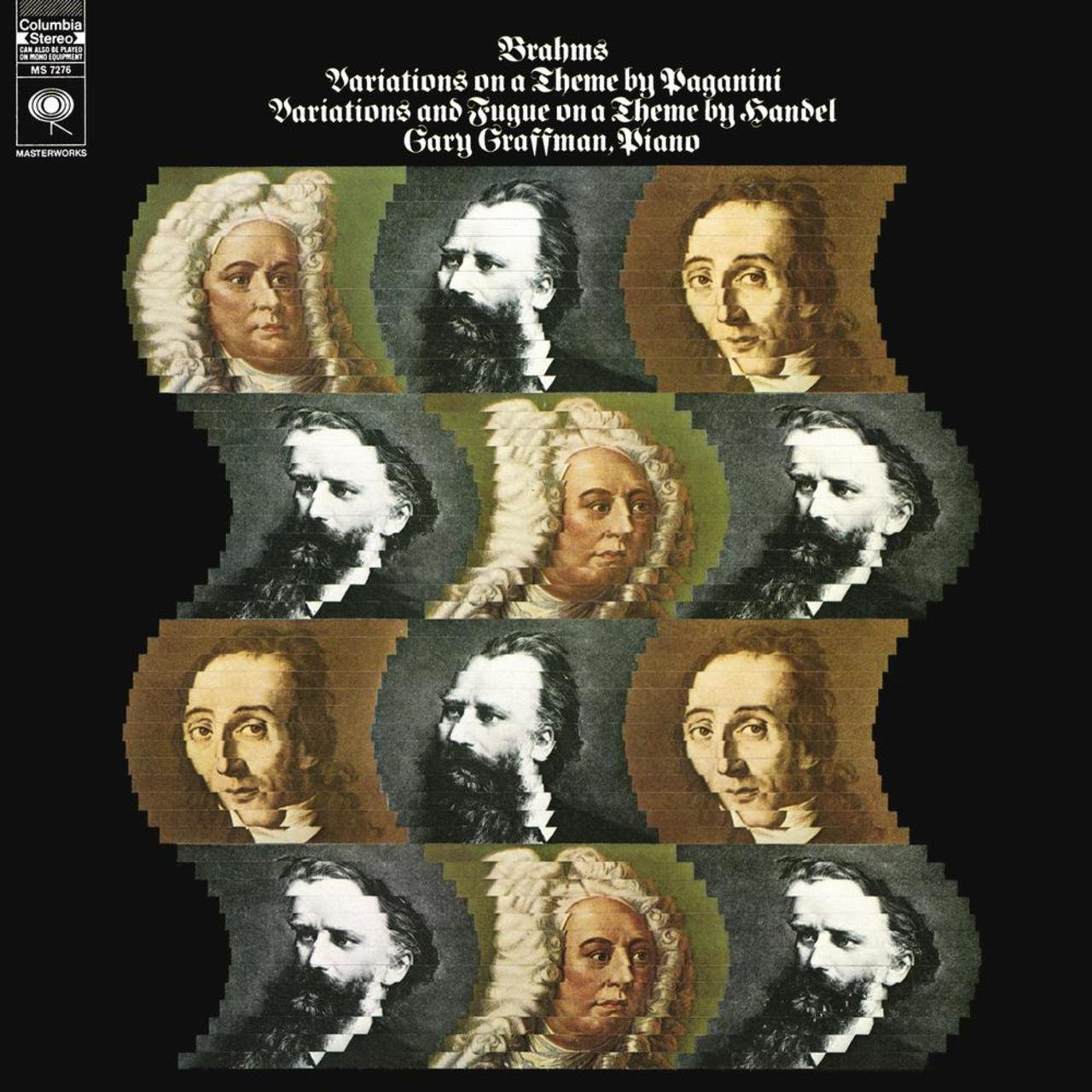 Brahms: Variations on a Theme by Paganini, Op. 35 - Variations and Fugue in B-Flat Major on a Theme by Handel, Op. 24