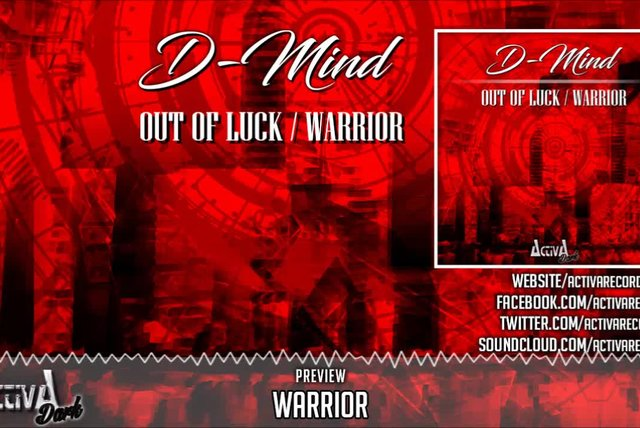 D-Mind - Warrior (Original Mix) - Official Preview (Activa Dark)