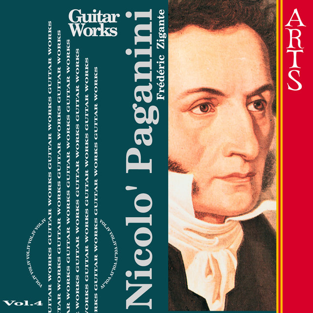Paganini: Guitar Music Vol. 4