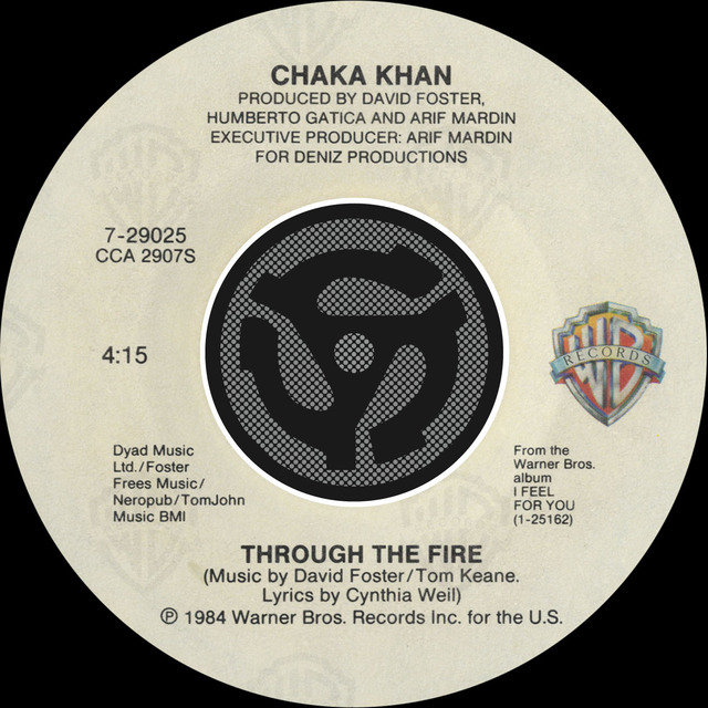 Through The Fire / La Flamme [Digital 45] (with PDF)