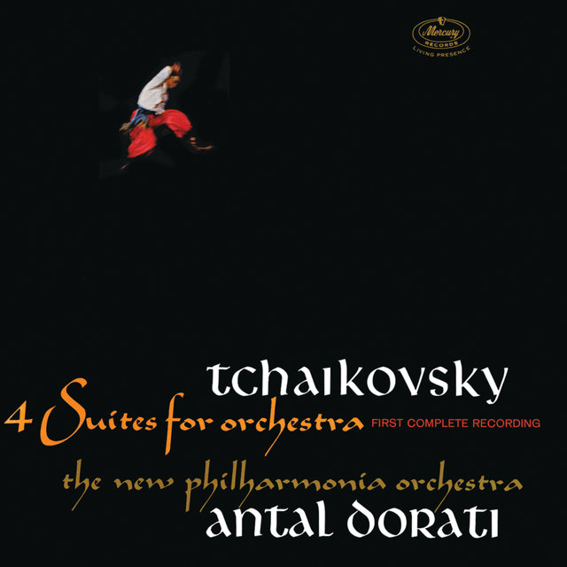 Tchaikovsky: 4 Suites For Orchestra