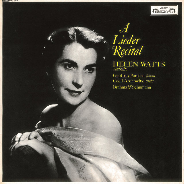 Helen Watts Recital