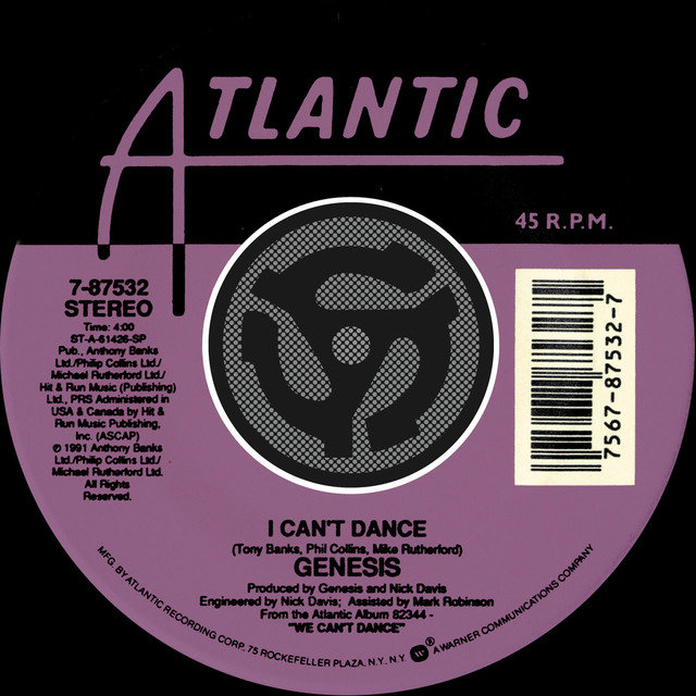 I Can't Dance / On The Shoreline [Digital 45]