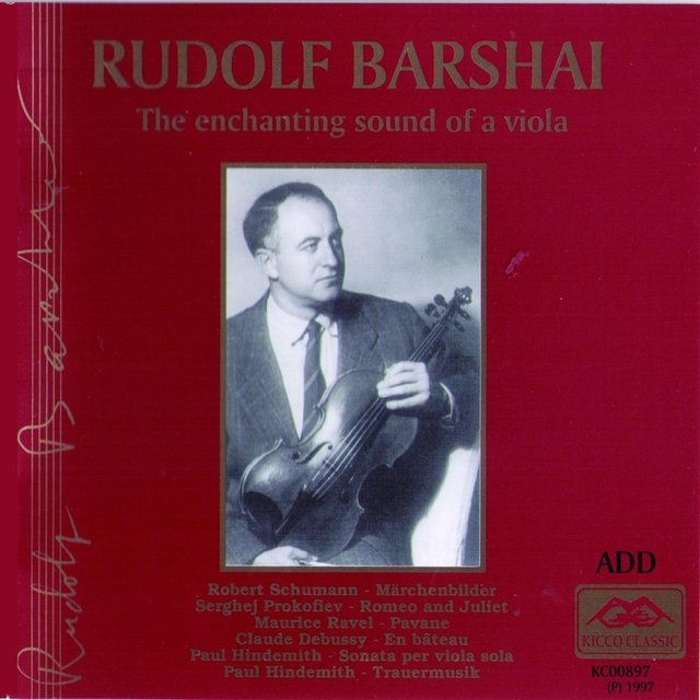 Rudolf Barshai : The Enchanting Sound of a Viola