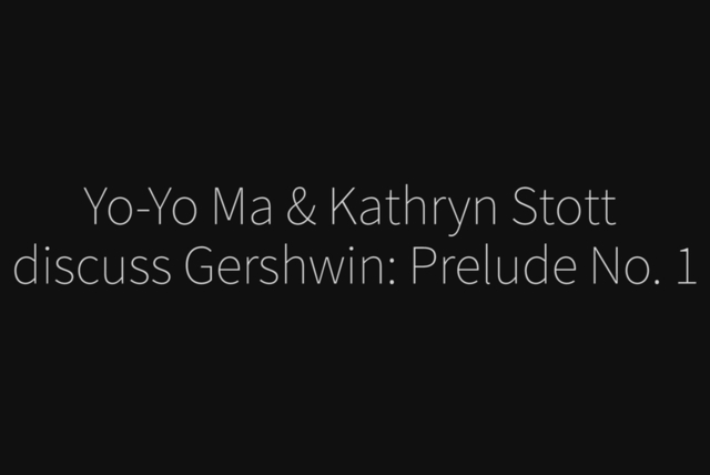 Prelude No. 1 (Gershwin) - Commentary