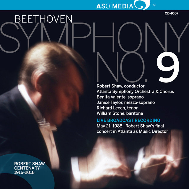 Beethoven: Symphony No. 9 in D Minor, Op. 125 (Live)