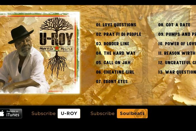 U-Roy - Pray Fi Di People - (Full Album)