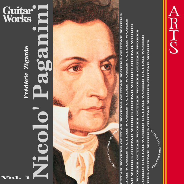 Paganini: Guitar Music Vol. 1