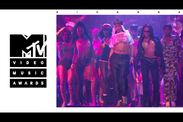 Rude Boy / What's My Name? / Work (Live from the 2016 MTV VMAs)