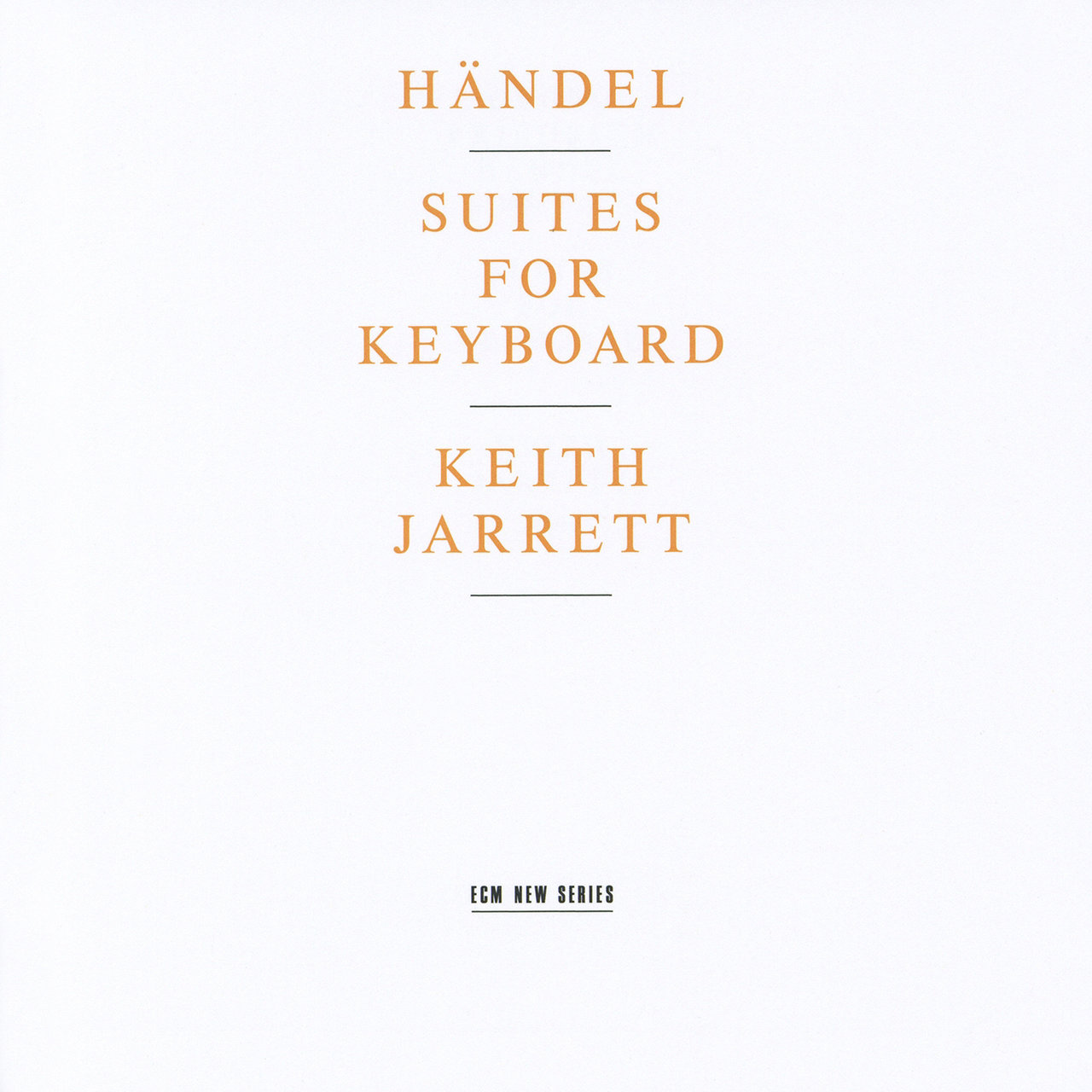 Handel: Suites For Keyboard