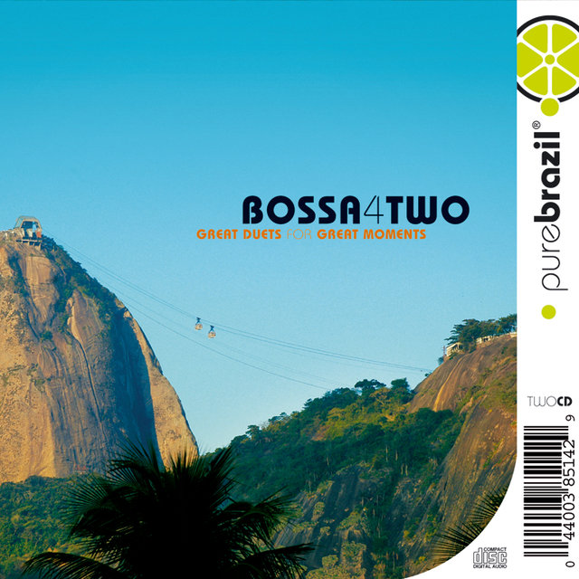 Pure Brazil II - Bossa 4 Two (CD 1)