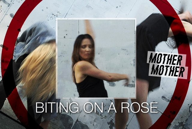 Biting On A Rose