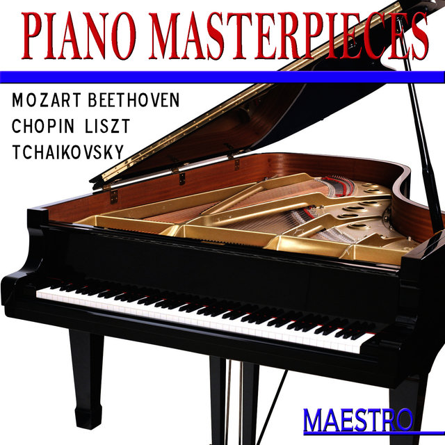 Piano Masterpieces: Mozart, Beethoven, Chopin, Liszt, Tchaikovsky And Others
