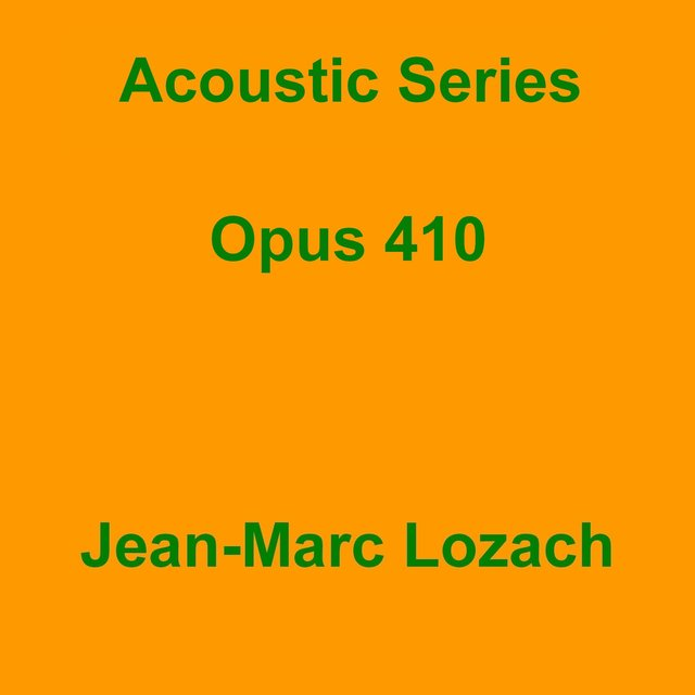 Acoustic Series Opus 410
