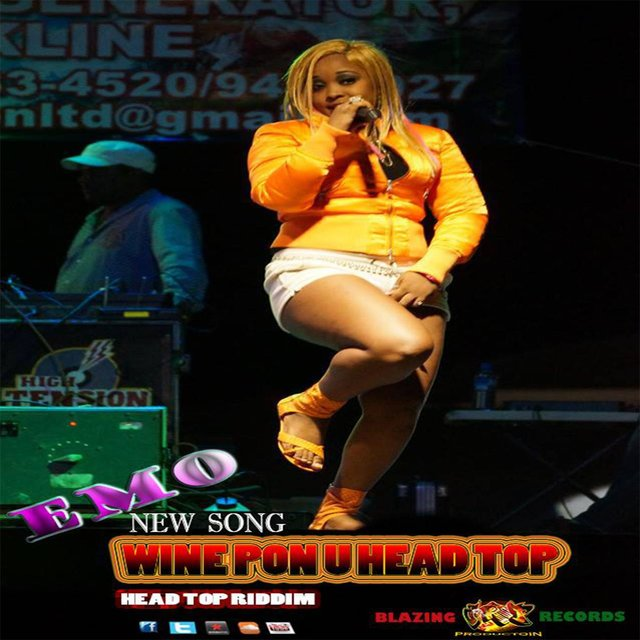 Wine Pon Mi Head Top - Single