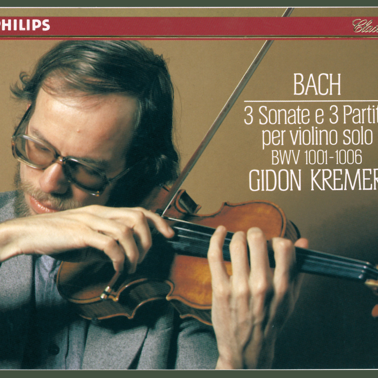 Bach, J.S.: 3 Sonatas & Partitas for Solo Violin