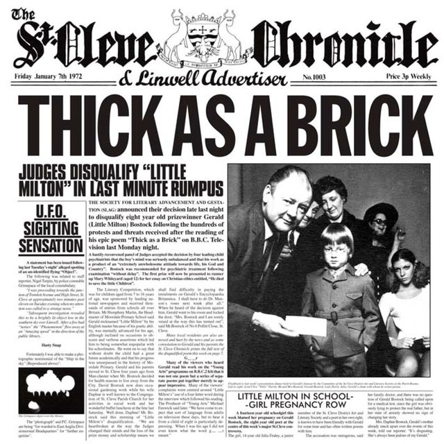 Thick as a Brick (Steven Wilson Mix and Master)