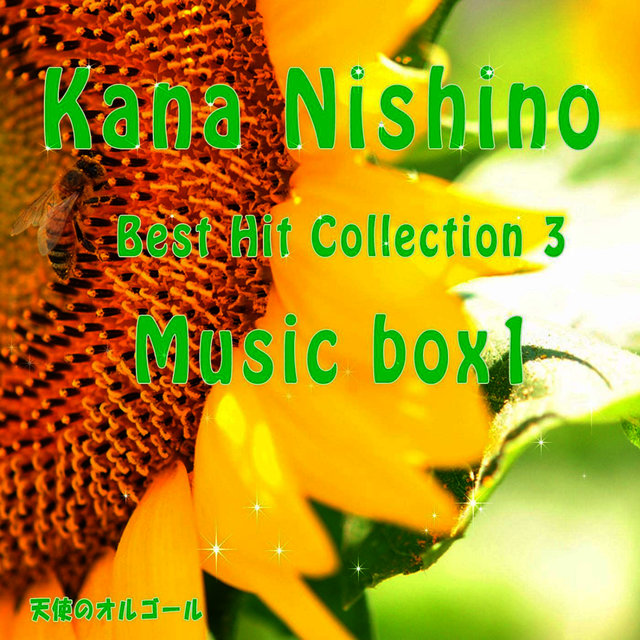 Kana Nishino Best Hit Collection 3 Music box1