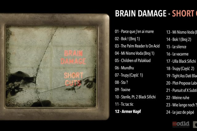 Brain Damage - Short Cut - #12 Armer Kopf