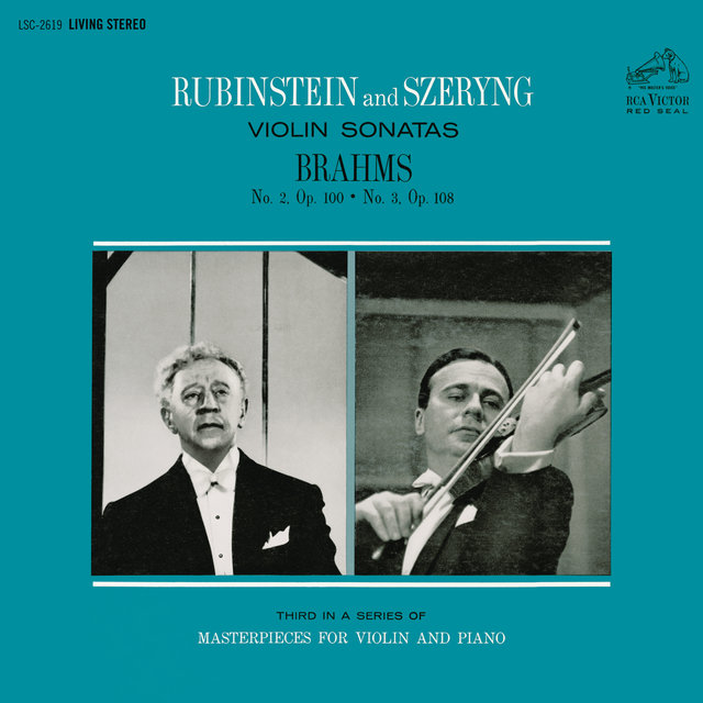 Brahms: Violin Sonata No. 2 in A Major, Op. 100 & No. 3 in D Minor, Op. 108
