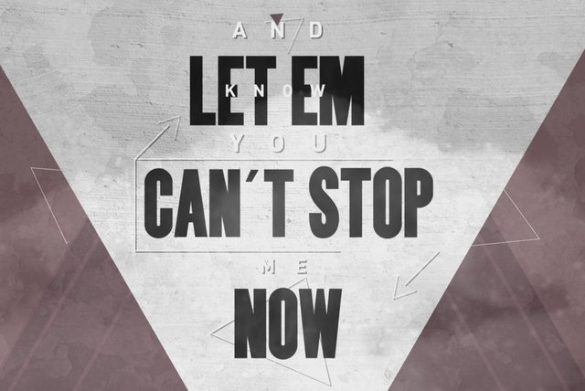 Can't Stop Me Now (Destination) (Lyric Video)