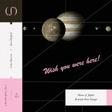Moons of Jupiter - Postcards From Voyager