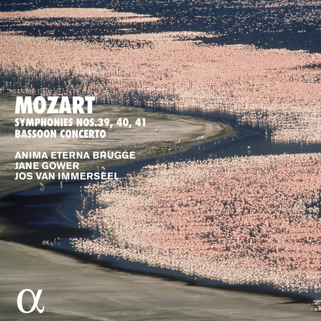 Mozart: Symphonies Nos. 39, 40, 41 & Bassoon Concerto (Alpha Collection)