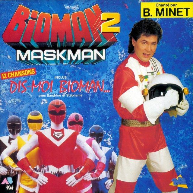 bioman 2 maskman