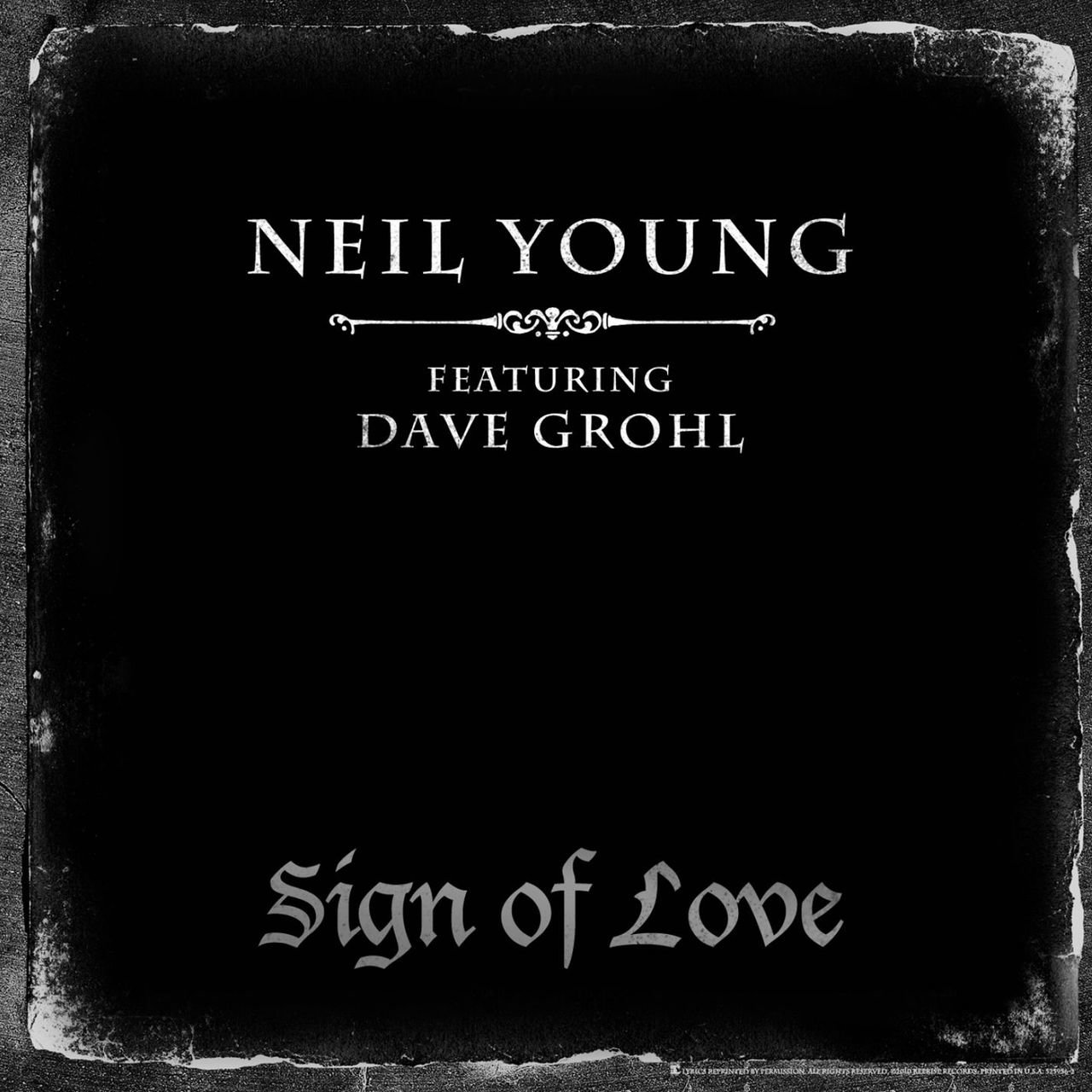 Sign Of Love (feat. Dave Grohl)