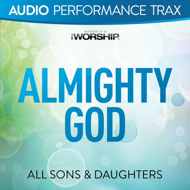 Almighty God [Audio Performance Trax]