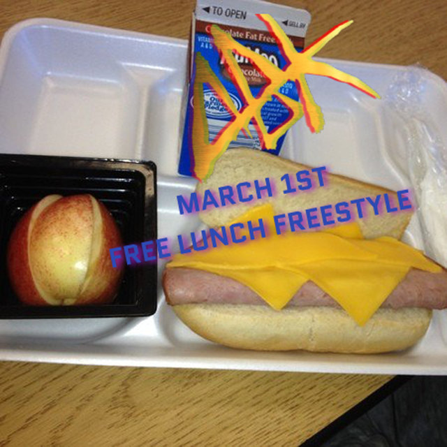 March 1st Free Lunch (Freestyle)