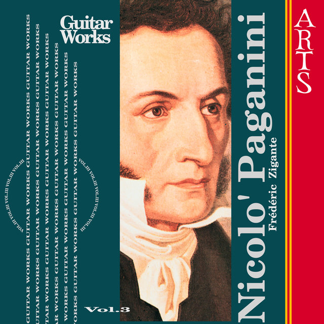 Paganini: Guitar Music Vol. 3