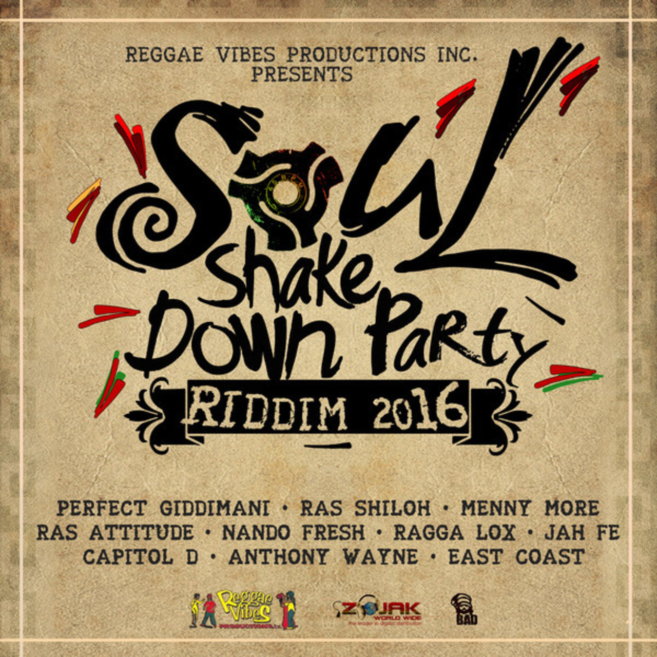 Soul Shake Down Party Riddim 2016