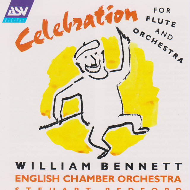 Celebration for flute and orchestra