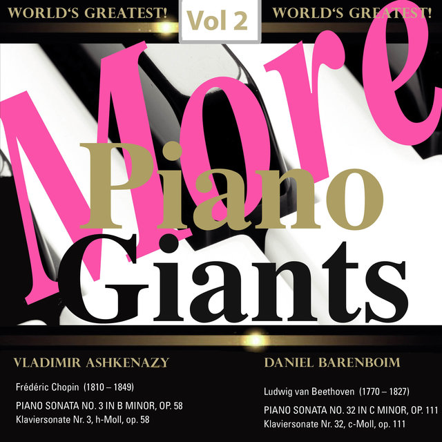 More Piano Giants: Vol. 2, Vladimir Ashkenazy & Daniel Barenboim