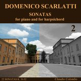 Sonata K. 31 in G minor - Allegro, for harpsichord