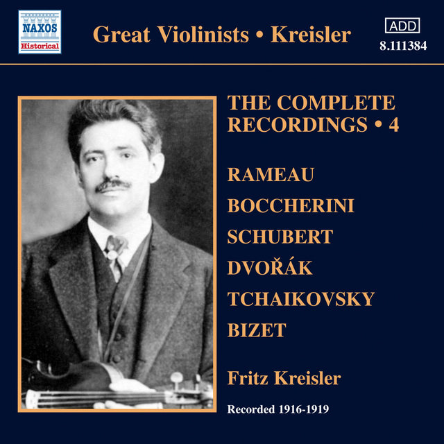 Kreisler: Complete Recordings, Vol. 4 (1916-1919)