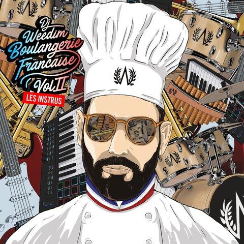 Cover DJ Weedim - Boulangerie Française Vol.2 Les Instrus