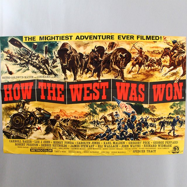 How the West Was Won Medley: Entr'acte / Cheyennes / Indian Fight / He's Linus' Boy / Climb a Higher Hill / What Was Your Name in the States? / No Goodbye (No. 2) / Finale