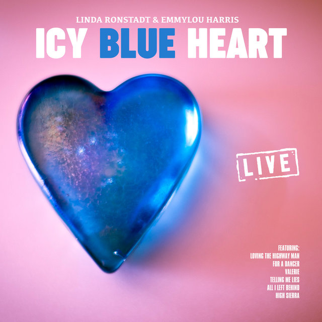 Icy Blue Heart