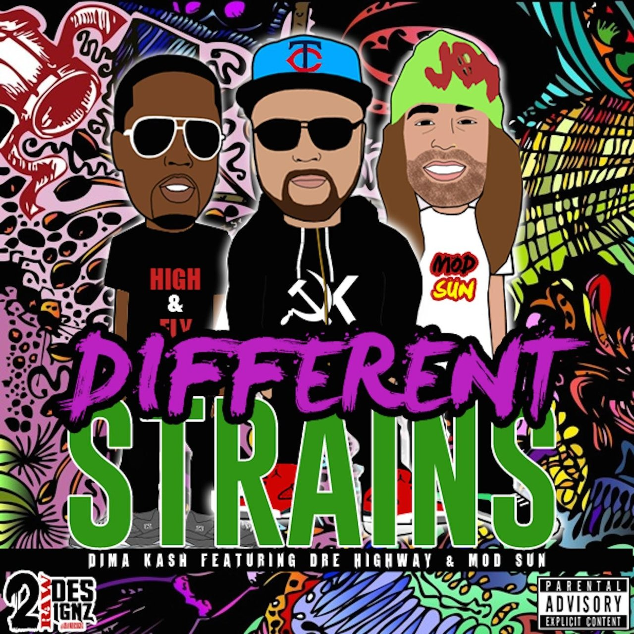 Different Strains (feat. Mod Sun & Dre Highway)