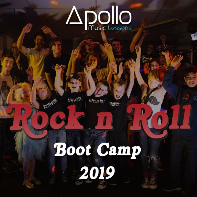 Apollo Music Lessons - Rock n Roll Boot Camp 2019