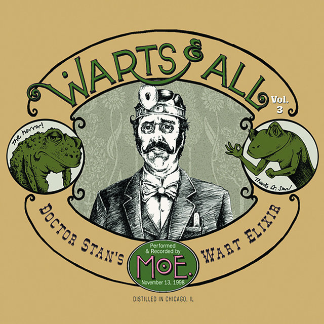 Warts and All, Vol. 3 (Live)