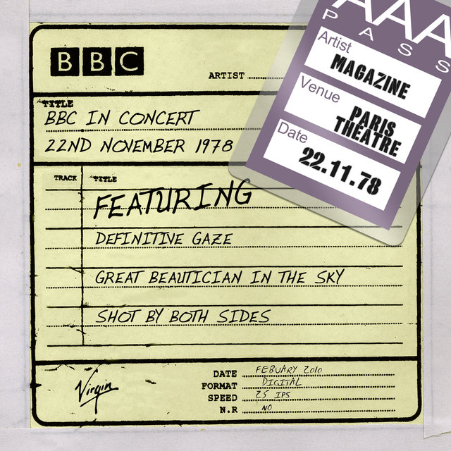 BBC In Concert 22nd November 1978