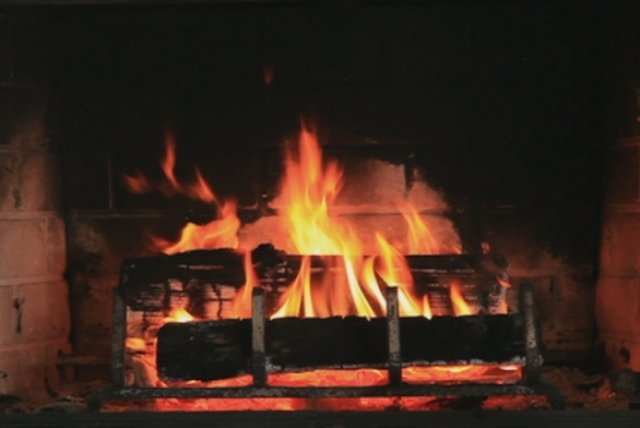 The Beautiful Day (Yule Log Video)