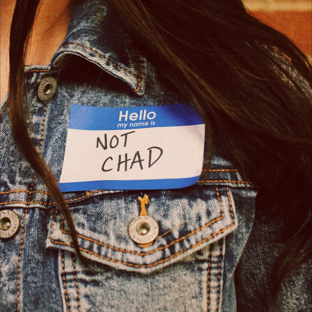 Hello, My Name Is Not Chad