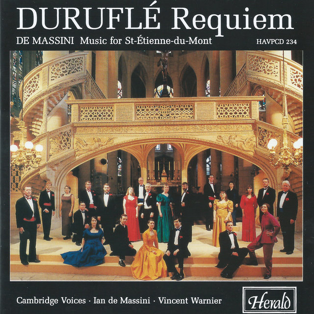Duruflé: Requiem & de Massini: Choral Works (Music for Saint-Étienne-du-Mont)